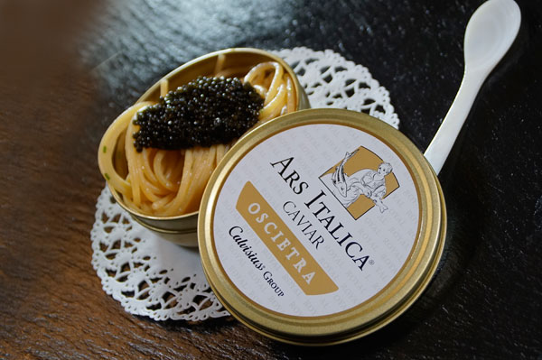 Video production Italia caviar