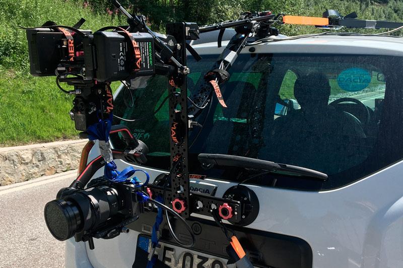 Produzione video e service cameracar
