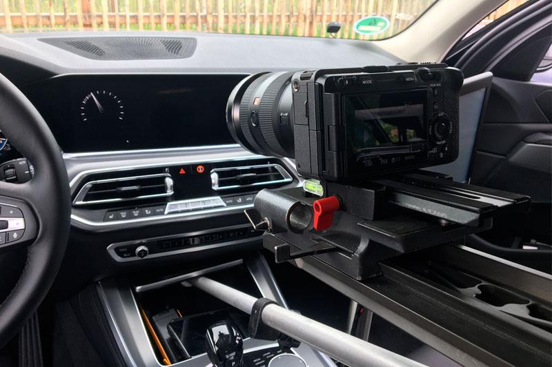 Riprese video camera car