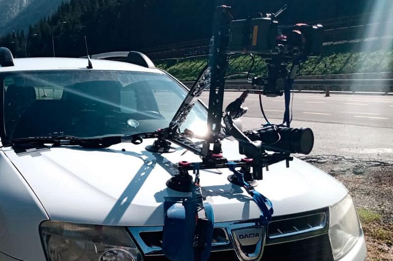 Operatori e service di riprese video cameracar