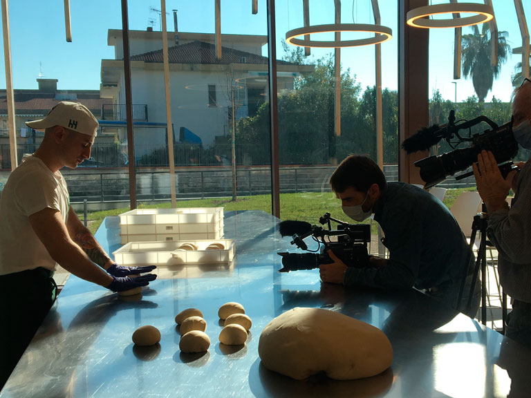 Professional video service in Italy for cooking class, chef and shooting recipes