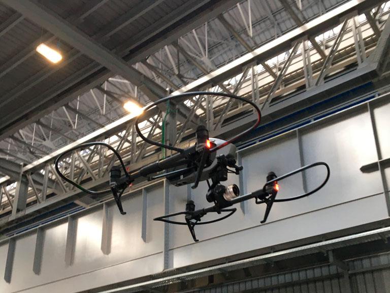 Droni professionali per riprese ad alta qualità, 4k
