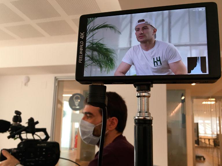 Servizi di riprese video e produzione per campagne di crowdfunding
