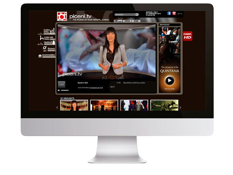 Servizi di produzione video e realizzazione di webtv