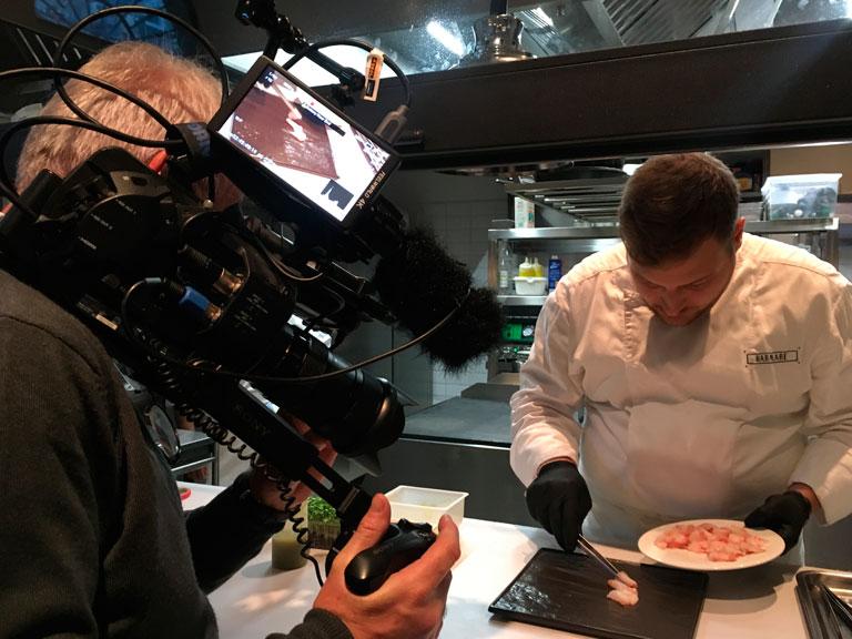 Servizi di produzione video per ricette culinarie
